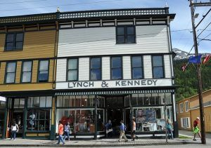 Lynch & Kennedy building, Skagway, Alaska by the National Park Service