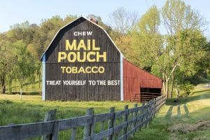 Mail Pouch Barn in Jackson County, West Virginia