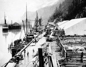 William Moore's Wharf, Skagway, Alaska