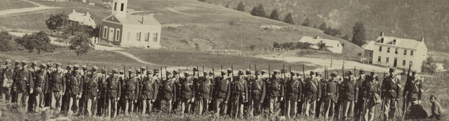 New York State Militia at Harpers Ferry, West Virginia, 1861