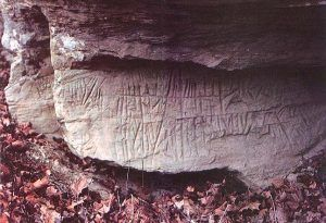 Ogam Petroglyph in West Virginia