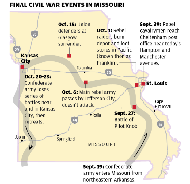 Price's Raid through Missouri