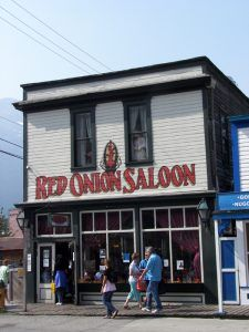 Red Onion Saloon, Skagway, Alaska, courtesy Wikipedia