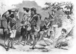 Secessionist Army in the Alleghany Mountains