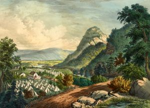 Shenandoah Valley by Currier & Ives, 1864