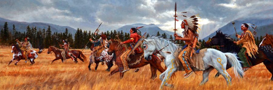 Sioux Warriors by James Ayers