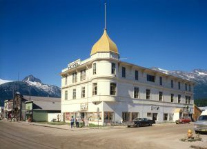 Golden North Hotel in Skagway, Alaska by the Historical American Buildings Survey