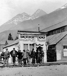 Jeff Smith's Parlour, Skagway, Alaska, 1898
