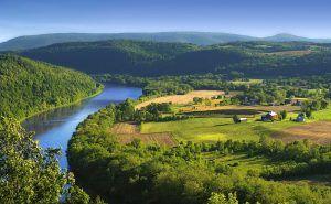 Susquehanna River Valley, Pennsylvania by Nicholas A. Tonelli, Flickr