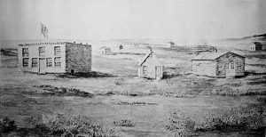Topeka, Kansas in 1856