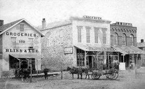 6th Street in Topeka, Kansas, 1869