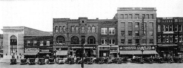 Kansas Avenue, Topeka, Kansas, 1930s