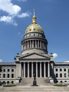 West Virginia Capitol Building in Charleston, by Carol Highsmith