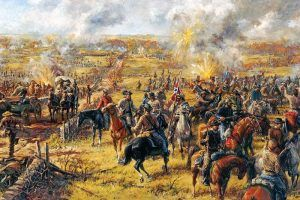 Battle of Westport, Missouri by Andy Thomas