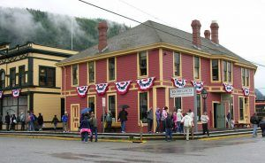 White Pass & Yukon Route Railroad Depot today, by the National Park Service