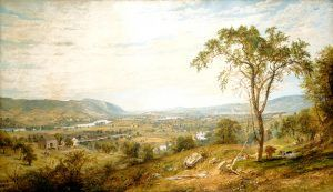 WyomingValley, Pennsylvania by Jasper Francis Cropsey