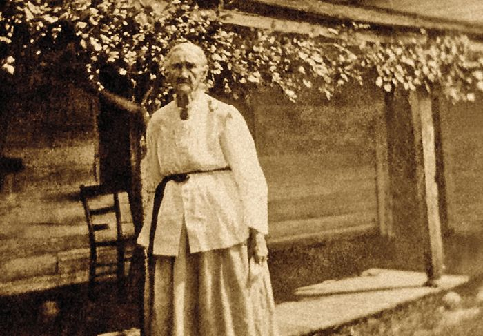 Zerelda James at her Farm
