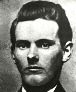 Frank James as a Young Man