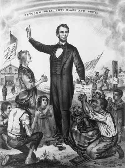 Abraham Lincoln Anti Slavery