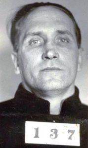 Albert Bates Mugshot, 1934