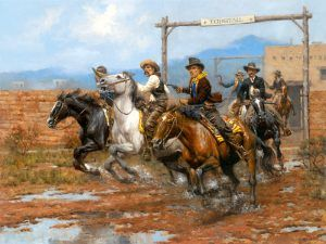 Billy the Kid and the Regulators, by Andy Thomas