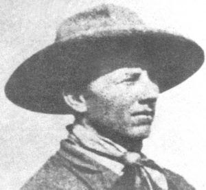 Billy Stiles in Nevada in 1908.