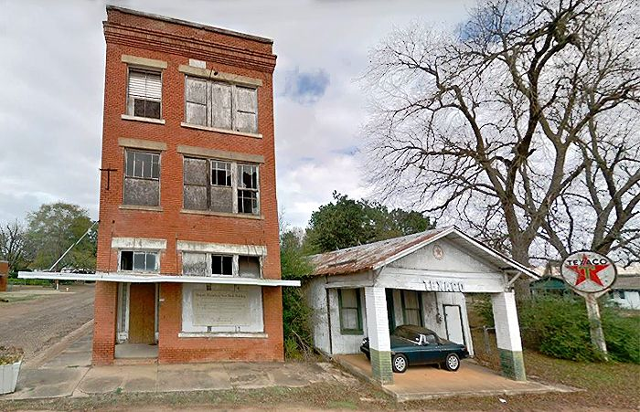 Bloomburg, Texas today, courtesy Google Maps
