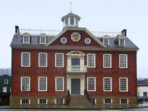 Colony House, Newport, Rhode Island by Daniel Case, Wikipedia.