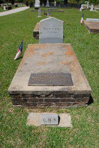 Cullen Baker Grave, Jefferson, Texas