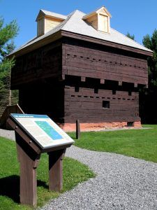 Fort Kent Maine Blockhouse by the National Park Service