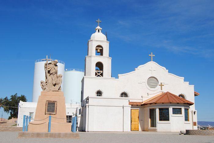 St. Thomas Church at Fort Yuma, Arizona by Kathy Weiser-Alexander