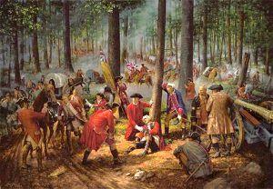 General Edward Braddock's Death