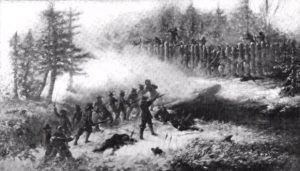 Great Swamp Fight during King Phillips War
