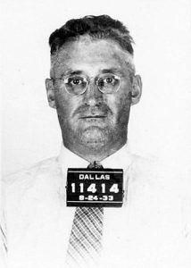 Harvey Bailey Mugshot, 1933