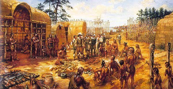 Jamestown, Virginia Indians