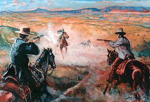 Lincoln County War in New Mexico