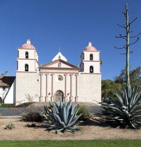 Mission Santa Barbara, California by Carol Highsmith