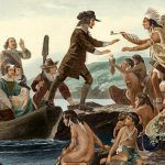 Roger Williams meets the Narragansett Indians
