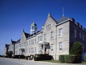 Naval War College, Newport, Rhode Island by Carol Highsmith
