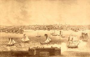Newport, Rhode Island in 1730