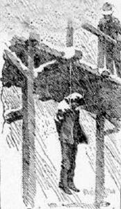 Patricio Maes Hanged