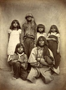 Pima Indians by Carlo Gentile, 1870