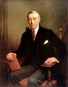 President Woodrow Wilson, 1913