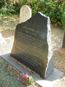 Rattlesnake Dick Barter's Grave in Auburn, California