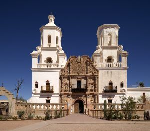 San Xavier del Bac Mission, Tuscon, Arizona by Carol Highsmith