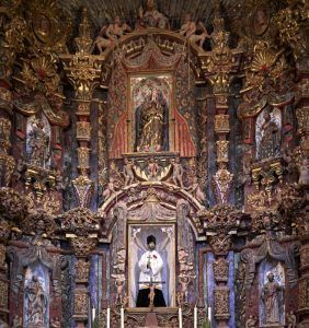 San Xavier del Bac Sanctuary by Carol Highsmith