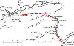 Shamokin Path Map
