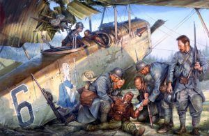 World War I aviators by John D. Shaw, National Guard Series