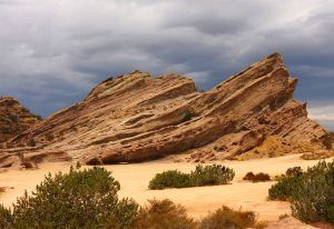 Vasquez Rocks, California, courtesy Wikipedia