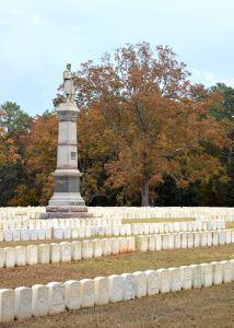 Andersonville, Georgia National Cemetery Today, by the National Park Service
